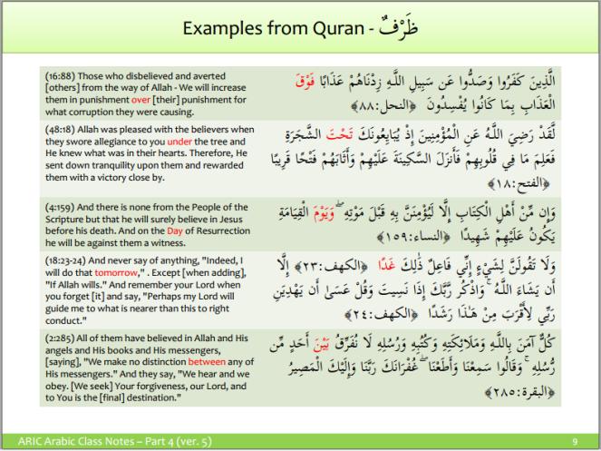 Adverbs in Arabic - 2