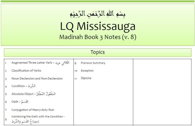 ARIC-Madinah-Book-3-Notes-v8
